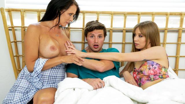 Вывез подружку в лес и поставил раком перед капотом своего автомобиля